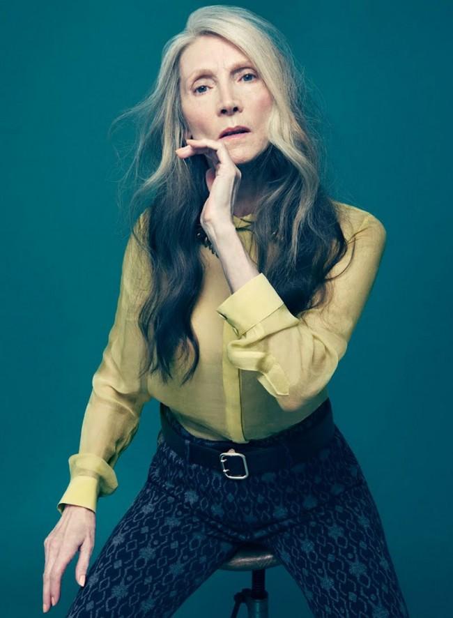 Fashion-Strecke aus »Maxi« von Fotografin Anja Frers mit Model Eveline Hall
