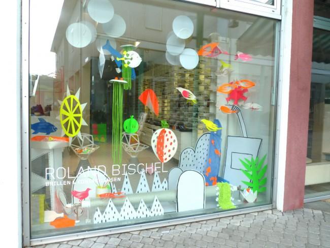 Shop Design für einen Optiker in Wien – für Sensomatic Design, Wien, Juni 2012