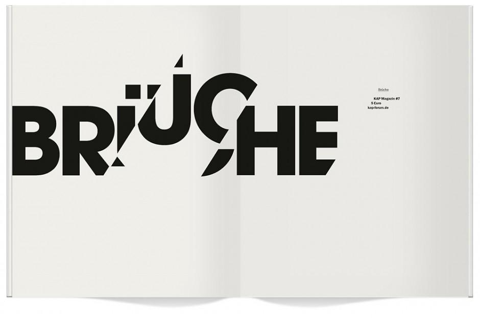 Kap-Magazin #7, Thema Brüche