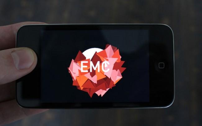EMC ist ein experimentelles Spiel für iPhone und iPad, inspiriert von der komplexen Schönheit der atomaren Physik