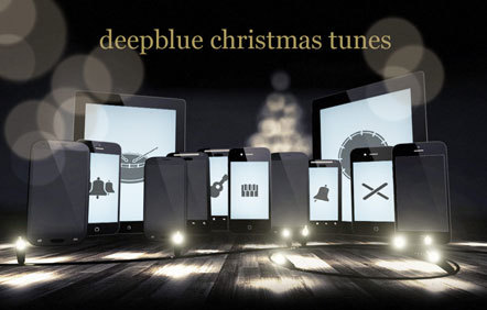 Bild deepblue Christmas tunes