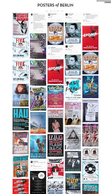 Bild Posters of Berlin Tumblr