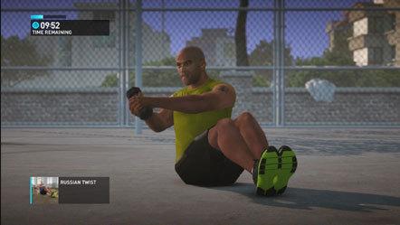 Bild Nike+ Kinect