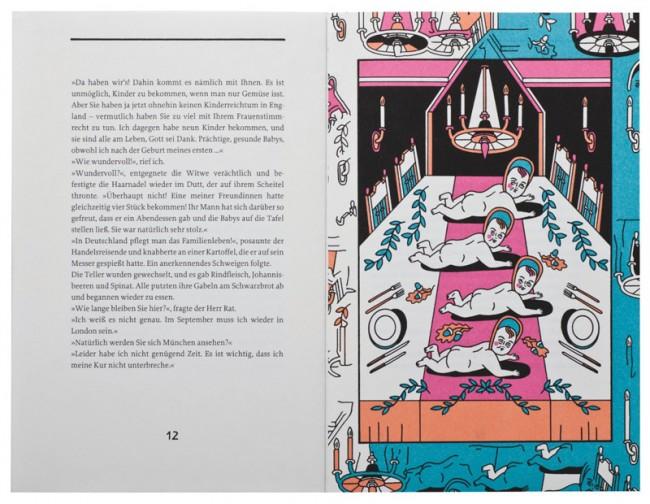 Illustrationen zu »In einer deutschen Pension« von Katherine Mansfield