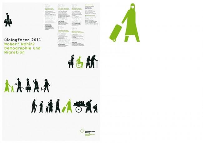 Münchener Rück Stiftung, Dialogforen 2011, Veranstaltungsplakat