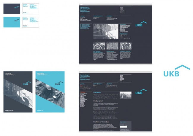 UKB, Corporate Design für eine Sozialkasse