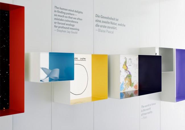 Munich Re, Frei Raum, Ausstellungsgestaltung