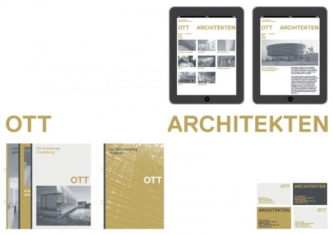 Ott Architekten, Corporate Design