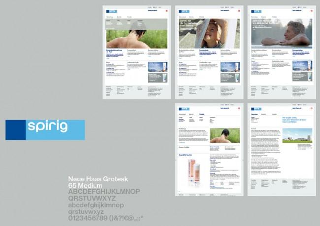 Spirig Pharma AG, Corporate Design