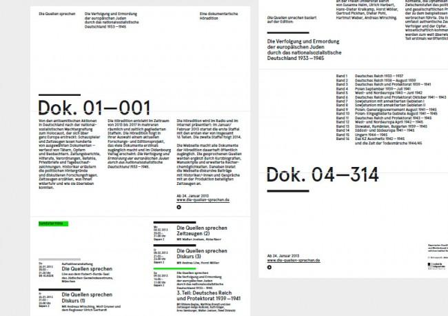 Bayerischer Rundfunk, Die Quellen sprechen, Online und Print Kommunikation