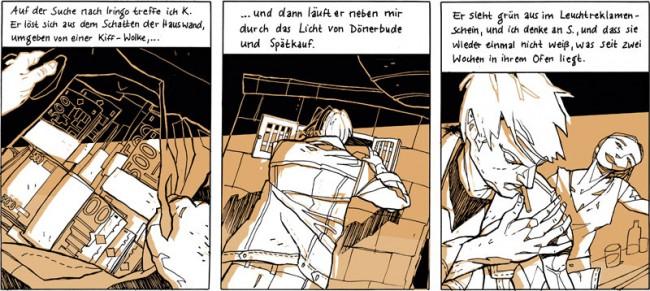 Seit drei Wochen, Text Verena Postweiler, aus »Das große Rauschen«, 2012