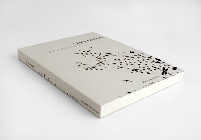 Buchgestaltung (literarische Anthologie) »Landpartie 07« Umsetzung in Zusammenarbeit mit der Klasse Editorial-Design HAWK Fakultät Gestaltung für: Glück & Schiller Verlag