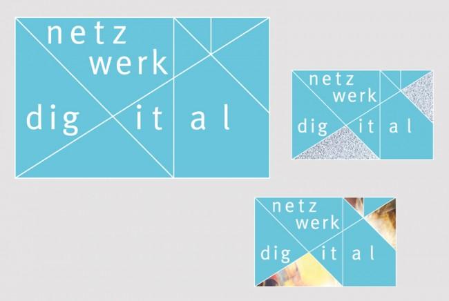 Corporate Design »netzwerk digital« für: nordmedia
