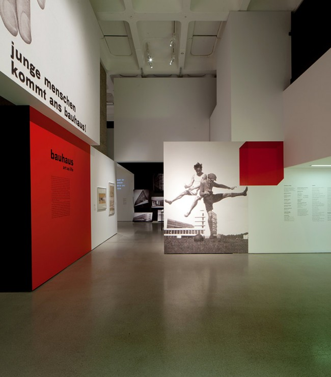 Bauhaus: Art as Life Exhibition Designed by Apfel