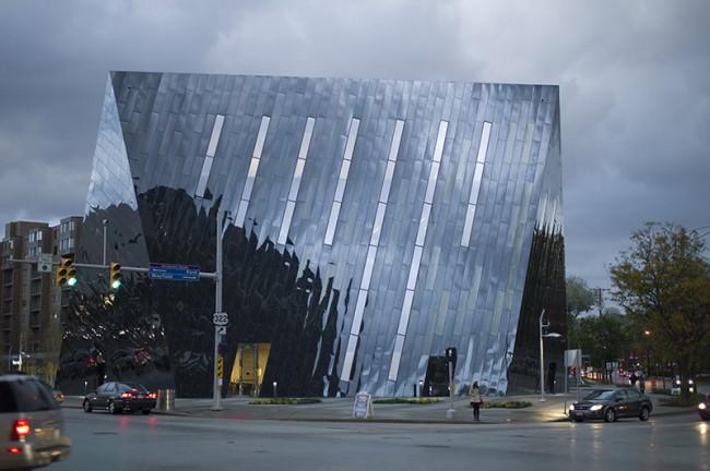 MOCA, CLEVELAND Designed by Farshid Moussavi Architects MOCA, CLEVELAND - Foreign Office Architects