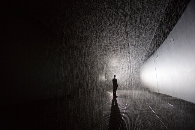 RAIN ROOM Designed by Random International