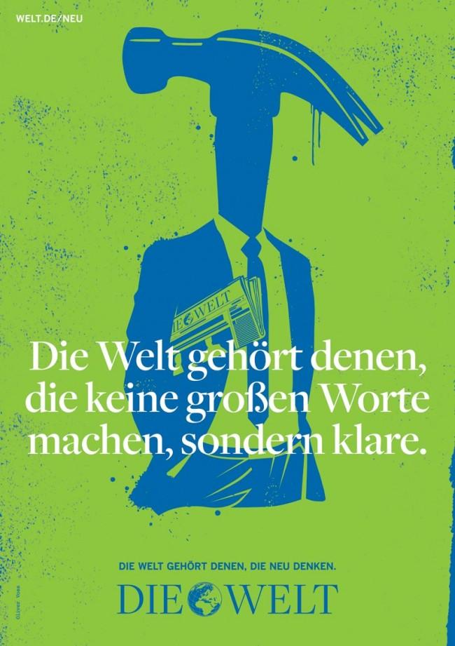Axel Springer »Die Welt«, Oliver Voss: Bronze in der Kategorie Integrierte Kampagne