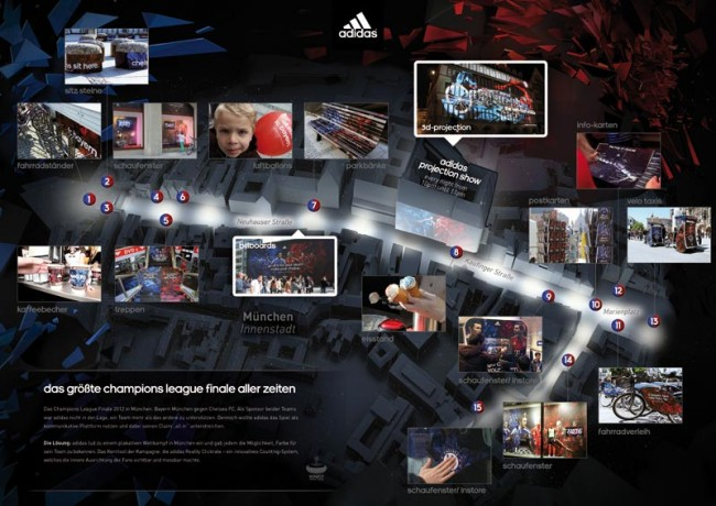 adidas »Make your choice«, Heimat: Gold in der Kategorie Out of Home