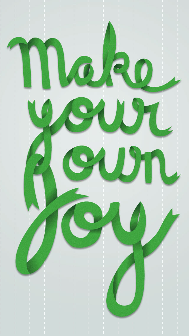 Make your own joy by Ashley Solano