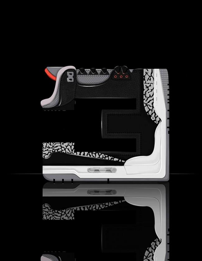 JORDAN 3 »BLACK CEMENTS«