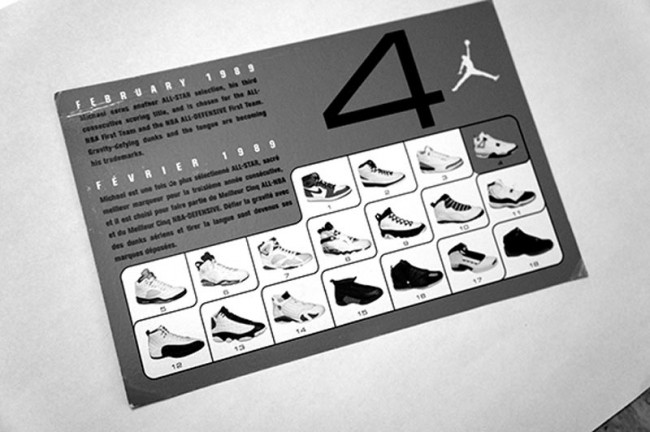 Inspiration: Die »JORDAN RETRO CARD«