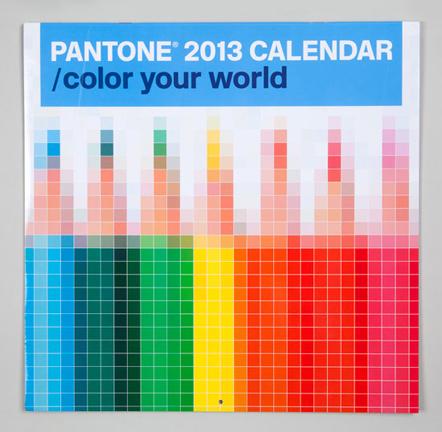Bild Pantone 2013