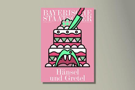 Bild bayrische Staatsoper Plakat