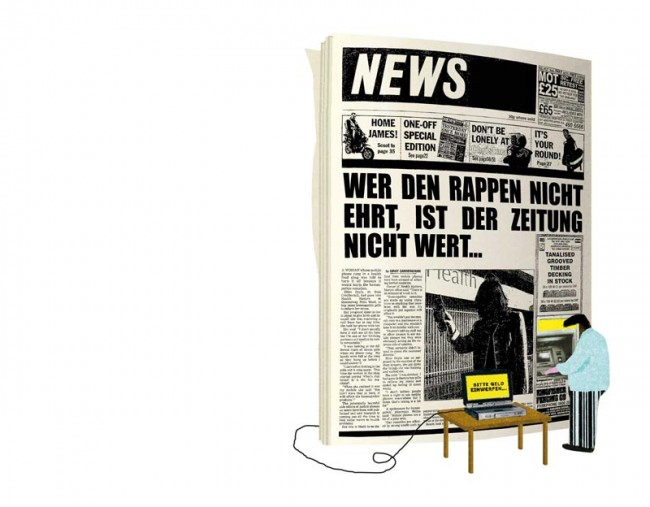 NZZ am Sonntag, »Newspapers in the Near Future«