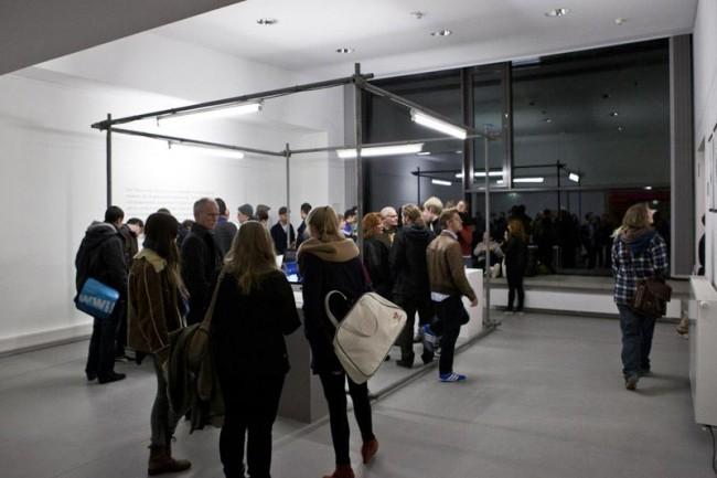 Ausstellungsstand, FH Münster, mit Tobias Banning und Robin Schüttert, 2013