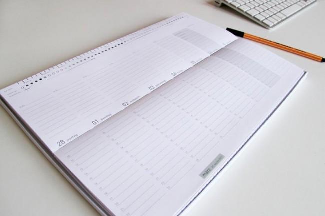 Faltkalendar, FH Münster, 2011