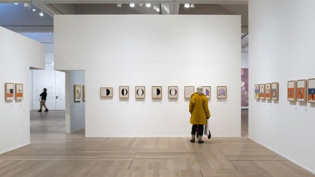 Installation view Hilma af Klint - A Pioneer of Abstraction, 2013 © Photo: Åsa Lundén/ Moderna Museet