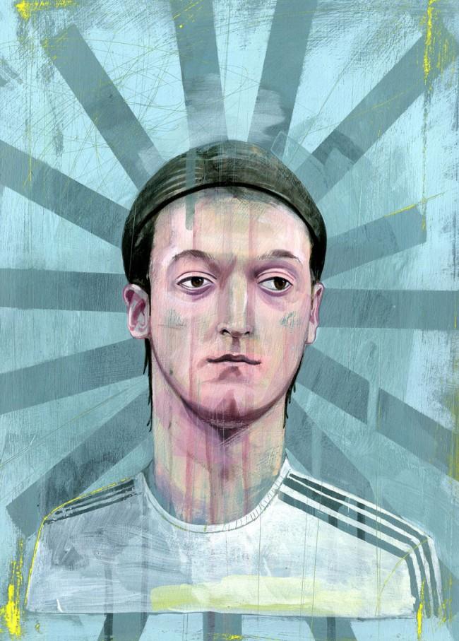 »Mesut Özil« für 11 Freunde, 2012