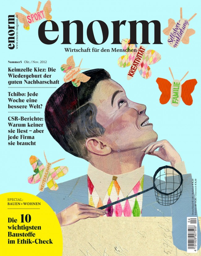 Titelillustration für Enorm