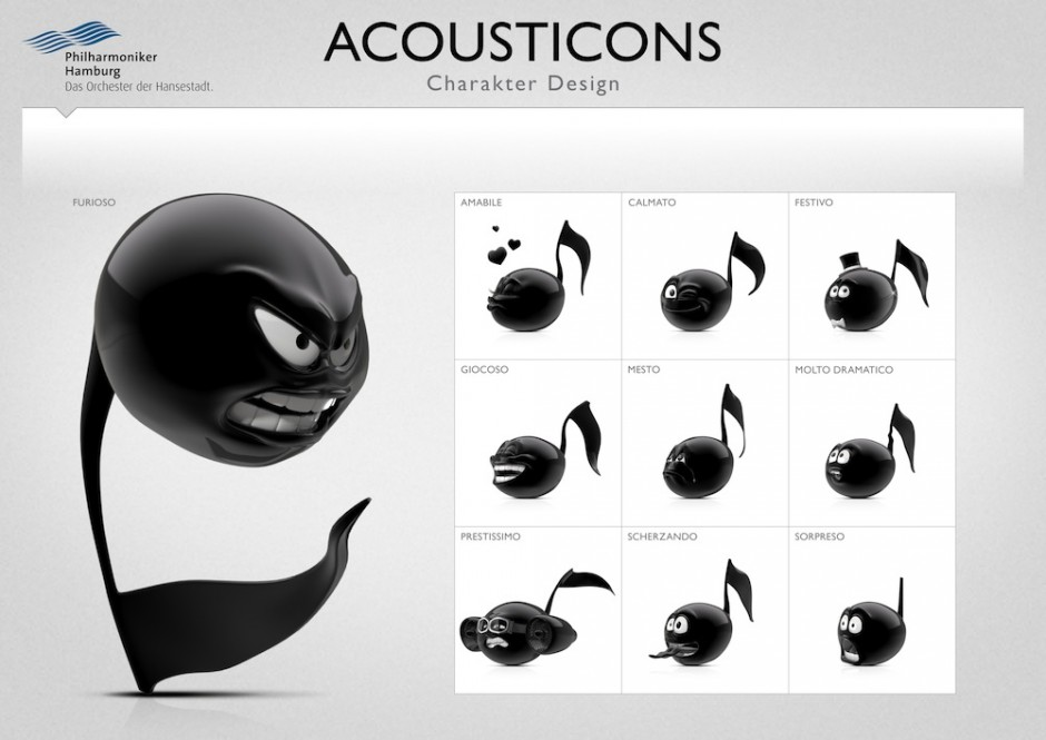 Acousticons Characters