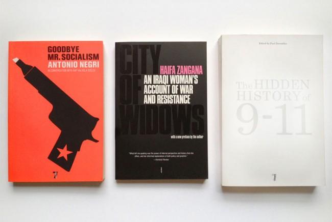 Verschiedene Buchtitel für Sachliteratur vom 7 Stories Verlag