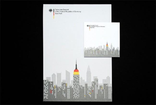 Corporate Identity für das Deutsche Konsulat in New York