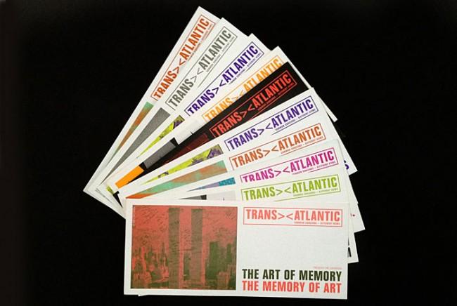 Newsletter und Einladungen für das Kulturprogramms »Transatlantic« im Goethe-Institut NY