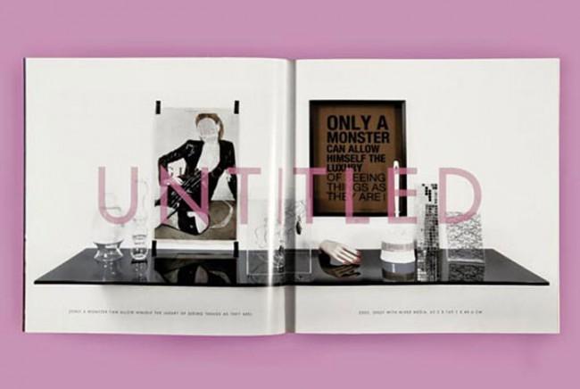 Kunst & Kommerz: Meckseper's Arbeit wird präsentiert wie eine Anzeige von Escada ...