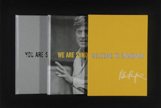 Aufwendig produziertes Buch-Set für Sponsoren des Sundance Film Festivals