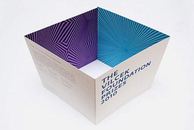Einladung zur Verleihung der Vilcek Preise von der Vilcek Foundation, 2010