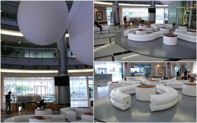 Multimediale Rauminstallation im German Centre Shanghai während der EXPO 2010/Institut IWAR der TU Darmstadt, BMBF