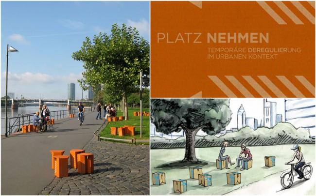 Platz Nehmen für Playing the City 2, Street Art/Schirn Kunsthalle Frankfurt am Main
