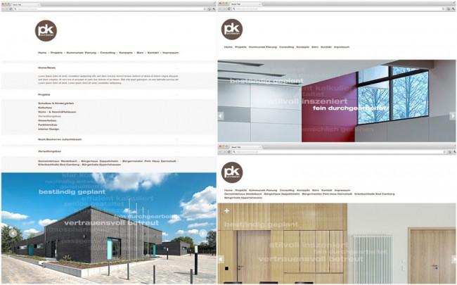 Website Redesign/pätzold und kremer Architekten