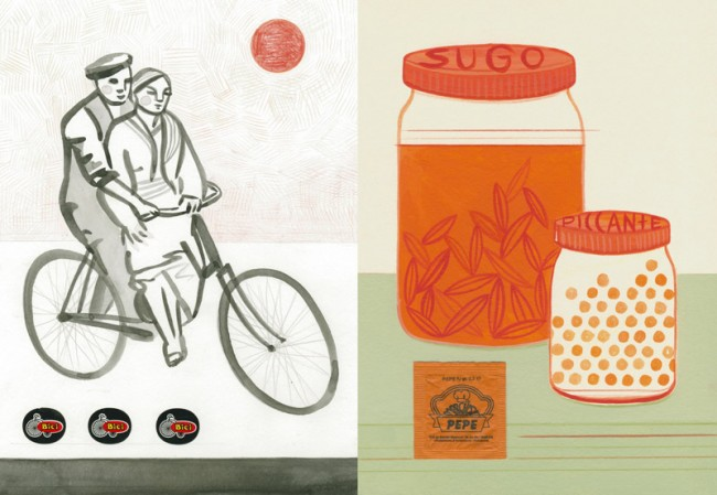 Bici, La cucina verde, Jacoby & Stuart
