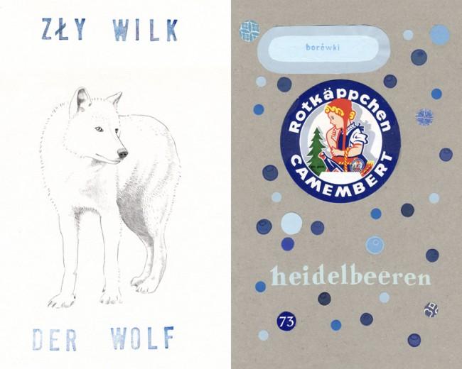 Der Wolf, Kalenderblatt DPJW