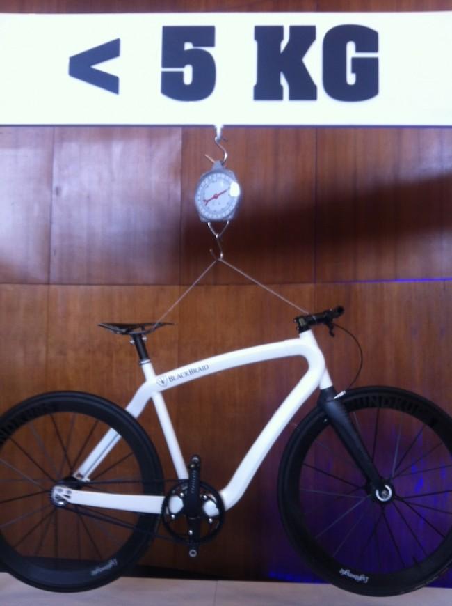 Das Blackbird-Bike von PG wiegt nur 5 kg