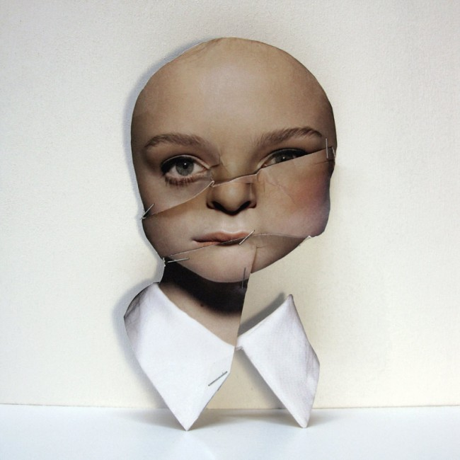 Nude Portrait: Papersculpt, 2012, personal artwork