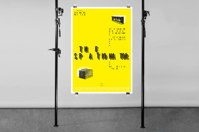 Spationator Plakat