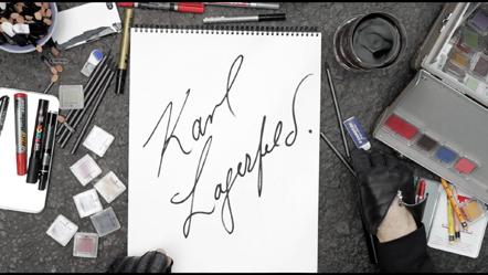 Bild Arte Lagerfeld