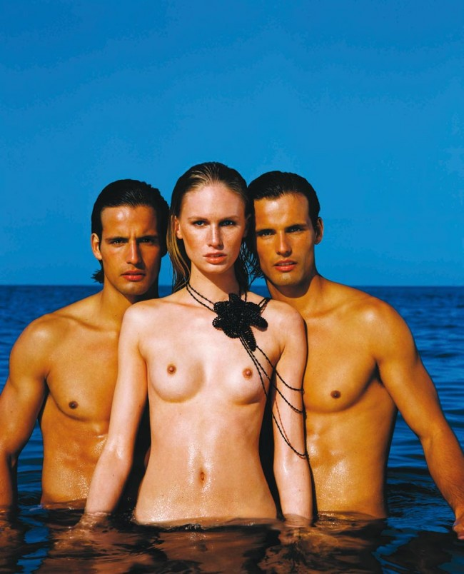 Naked Bunch #1, Tove Gronwald, Pedro & Ricardo Guedes, Côte d'Azur 2001